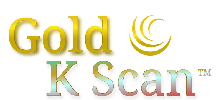 Gold K Scan logo